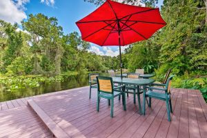 Waterfront Bungalow Studio on Rock Springs River